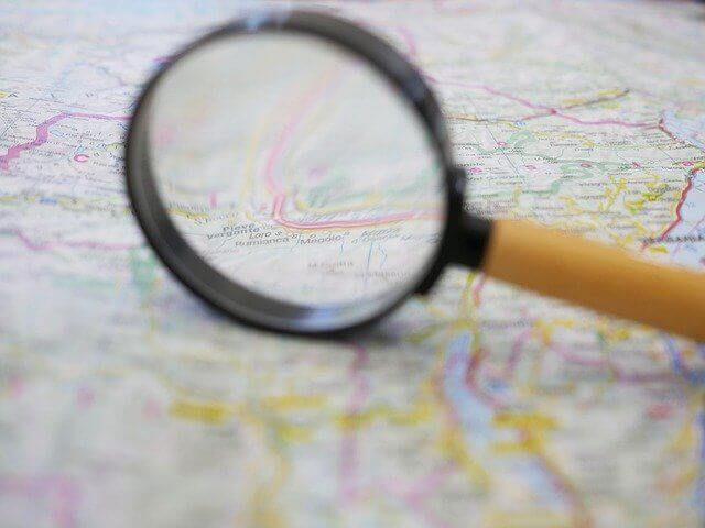 Route plannen op de kaart
